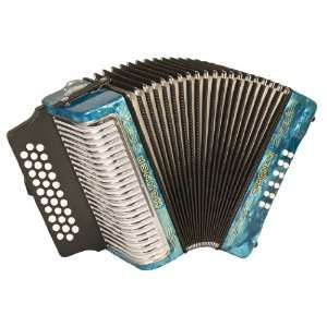 Hohner Accordions 3500FLB 43 Key Accordion: Musical