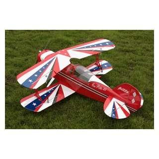 Nitro gas powered radio remote controlled bipe airplane toys amp games