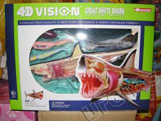 4D Vision Puzzle Animal Anatomy Series 3D Model Shark