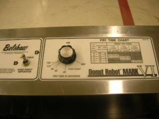 MARK VI BELSHAW DONUT ROBOT PRODUCTION SYSTEM FRYER