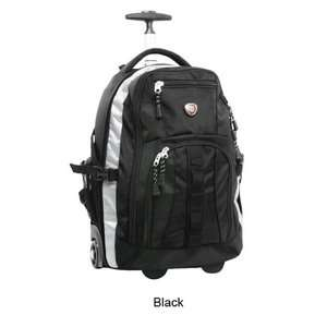 American Traveler Deluxe Rolling Backpack Bags