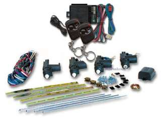 Door Remote Control Power Door Lock Kit w/2 Remotes