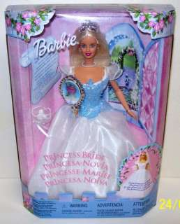 Barbie Princess Bride Doll Mattel 2000 NRFB