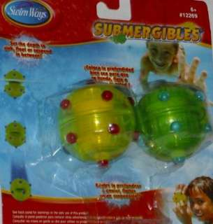 Ways Submergibles Dive Set Swimming Pool Water Toy 795861122694