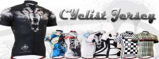 mens Cycle bike bicycle shirt shortsleeve top gear cyclist jersey S M