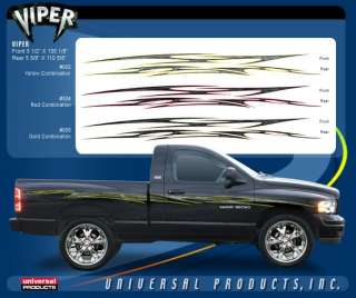 VIPER Vinyl Graphic Decals Stripes Car Chevy Ford Truck Dodge RAM 1500
