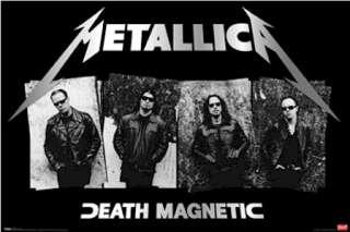 MUSIC POSTER ~ METALLICA DEATH MAGNETIC SUNGLASSES
