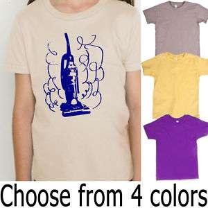 Vacuum Cleaner American Apparel Organic Kids T Shirt