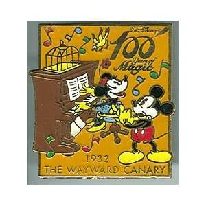 Disney Pin/JDS 100 Years magic Pin Wayward Carnary 1932