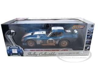 Brand new 118 scale diecast car model of 1965 Shelby Cobra Daytona