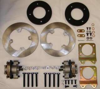 327 Honda Foreman 450 Disc Brake Kit