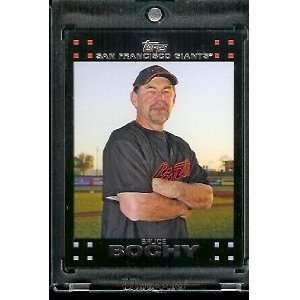 2007 Topps Red Back Bruce Bochy San Francisco Giants #605