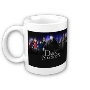 Shadows Tim Burton Johnny Depp Jonathan Frid Coffee, Tea, Hot Coco Mug