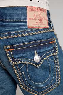 True Religion Billy Big T Whip Stitch Jeans for men
