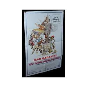 ORIGINAL MOVIE POSTER MAD MAGAZINE RALPH MACCHIO Everything Else