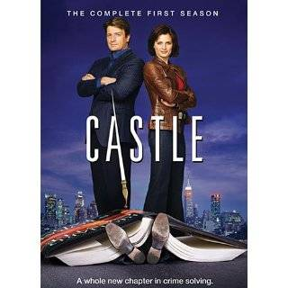 Castle The Complete First Season ~ Stana Katic and Nathan Fillion