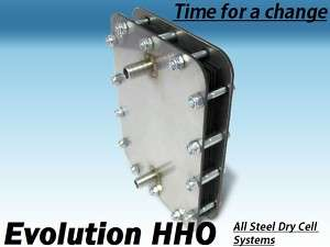 HHO  ALL STEEL  Dry Cell Hydrogen Generator kit FS520