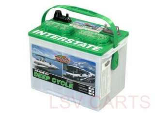 INTERSTATE BATTERIES MARINE RV DEEP CYCLE BATTERY HD24 DP 405 CCA BOAT