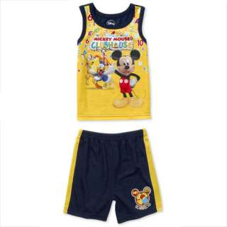 Toddler Boys Mickey Mouse Clubhouse 2 Piece Pajamas Set Clothing