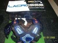 NEW Shock Doctor DaVinci Lacrosse Chest Shoulder Pads Y