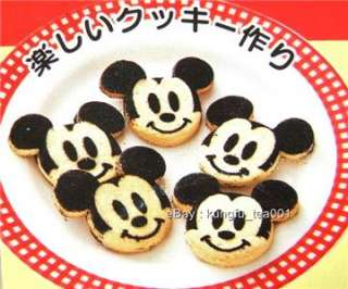 Mickey Mouse Stainless Food Cookie Cake Cutter Stencil