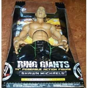WWE JAKKS SHAWN MICHAELS RING GIANTS 9 FIGURE Toys & Games
