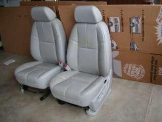 YUKON AVALANCHE SILVERADO SIERRA LEATHER SEATS SEAT POWER
