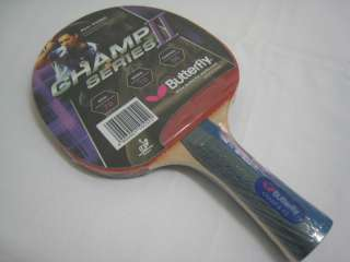 Butterfly Champ II F3 Series Table Tennis Blade/Paddle