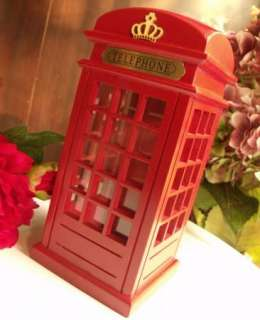 Money Box/Piggy Bank Coin Money Bank Saving Box Lodon Telephone booth
