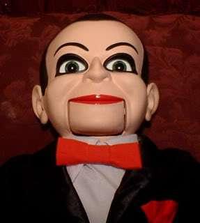 Ventriloquist Doll EYES FOLLOW YOU Dead Silence Billy Dummy Puppet