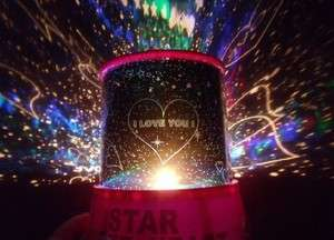 Love Cupid Romantic LED Light Projector Mini Sky Constellation Star