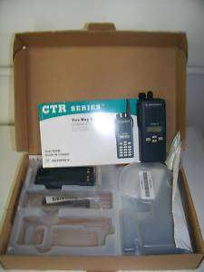 MOTOROLA CT450LS 4W 10CH UHF 450 520MHZ TRUNKING LTR RADIO POLICE FIRE