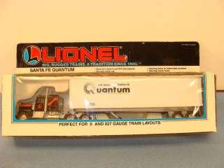 Lionel O Santa Fe J.B. Hunt Semi Truck & Trailer #12836