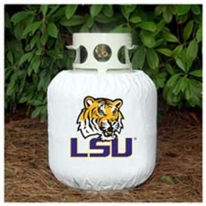 LSU Tigers Propane Tank Cover: Sports & Outdoors