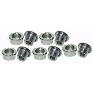 Pyramid Chainring Bolt set Steel Chrome N20 Sports