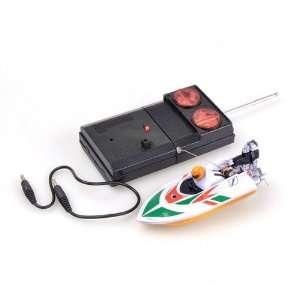 White Radio Remote Control Mini Racing Speed Boat Toys & Games