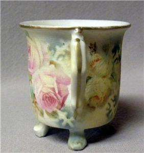 Antique Royal Bayreuth Rose Tapestry Toothpick Holder