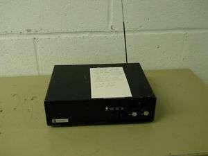 Plectron VHF 2 Tone Receiver 155.745 fire public safety radio