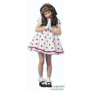 Childrens Shirley Temple Costume (SizeSmall 4 6) Toys & Games