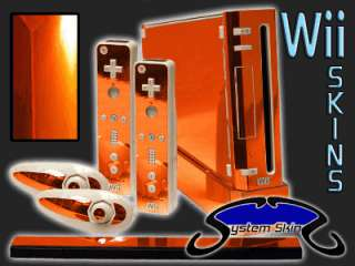 CHROME Skin for Nintendo Wii Console System Vinyl Decal Wrap Kit