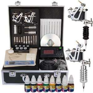 Stunning 1 Gun Series Tattoo Tattooing Machine Kit Set Equipment