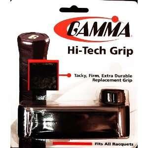 Gamma Hi Tech Replacement Tennis Grip Color Black  Sports